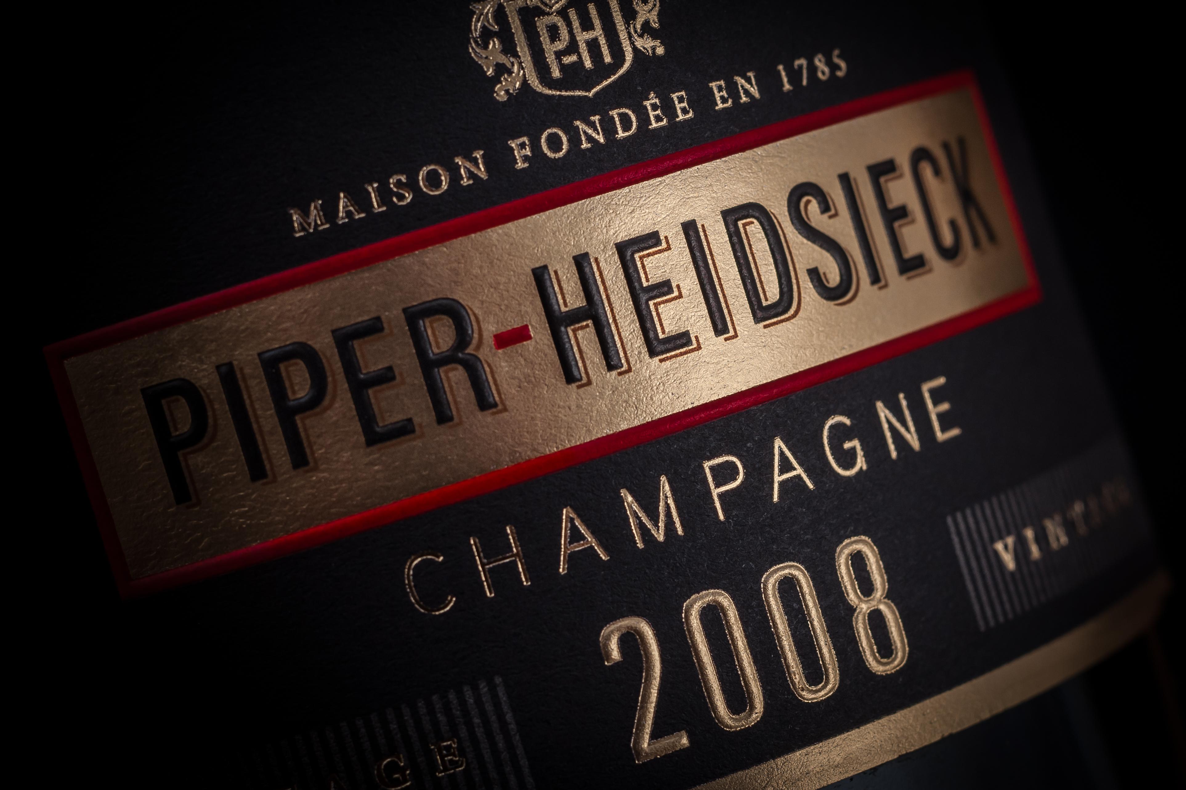 Un nouveau pack pour le champagne PIPER-HEIDSIECK