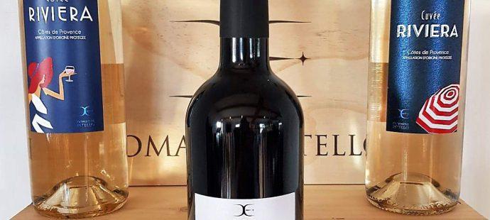 Création d'une nouvelle étiquette pour notre client Domaine Estello
